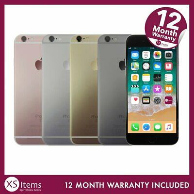 View Details Apple IPhone 6S A1688 16/64/128GB Space Grey/Silver/Rose Gold Unlocked/EE/O2 • 119.99£