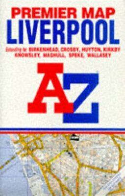 £5.99 • Buy Premier Street Map Of Liverpool (Pr... By Geographers' A-Z Map Sheet Map, Folded