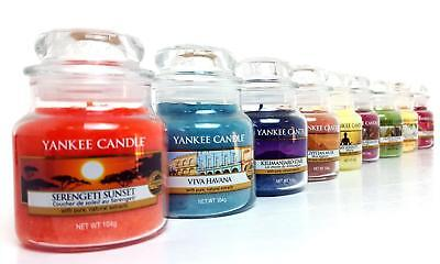 View Details 6 X Assorted Fragrances Official Yankee Candle Signature Classic Small Jars 104g • 21.99£