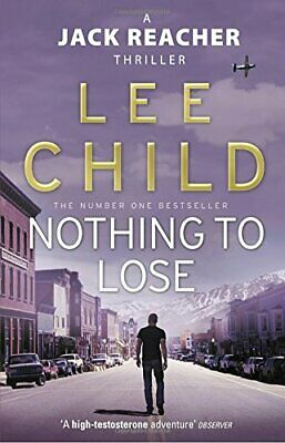 Nothing To Lose: (Jack Reacher 12) By Child, Lee Paperback Book The Cheap Fast • 5.49£
