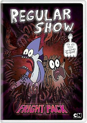 Regular Show: Fright Pack (DVD) NEW • 8.22£