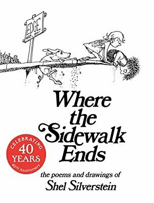 Where The Sidewalk Ends By Silverstein, Shel Paperback Book The Cheap Fast Free • 8.99£