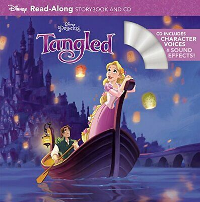 £5.49 • Buy Tangled Read-Along Storybook And CD By Disney Book Group Book The Cheap Fast