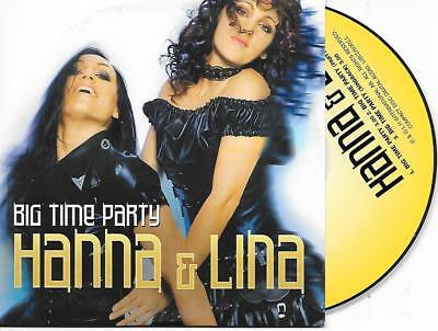 £4.05 • Buy HANNA & LINA - Big Time Party CD SINGLE 3TR EUROVISION 2002 SWEDEN Pre-selection