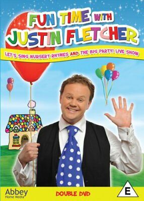 £4.24 • Buy Funtime With Justin Fletcher [DVD] - DVD  64VG The Cheap Fast Free Post