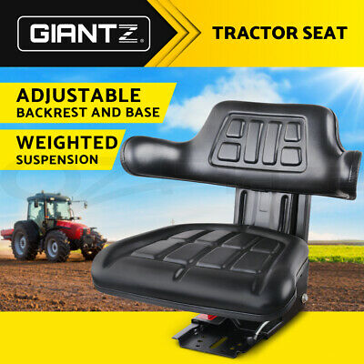 AU156.95 • Buy Giantz Tractor Seat Forklift Excavator Truck Universal Digger Chair