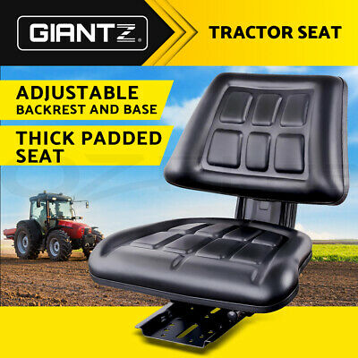 AU87.95 • Buy Giantz Tractor Seat Forklift Excavator Truck Universal Replacement Chair