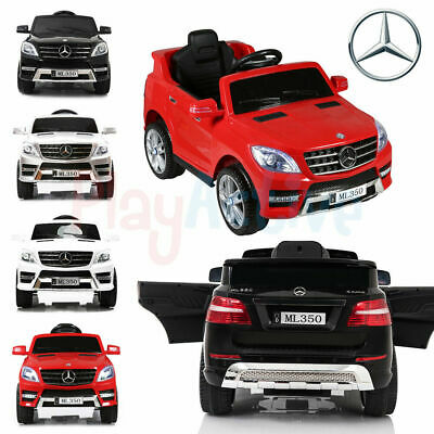 Licensed Ride On 12v Mercedes Benz Ml350 Kids Jeep Remote Control Car / Cars • 119.99£