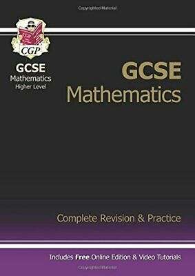 £3.59 • Buy GCSE Mathematics Higher Level: Complete Revision And P... By CGP Books Paperback