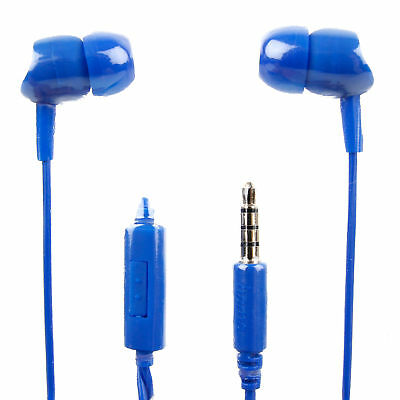 In-Ear Earphones In Blue With Microphone For The  Leapfrog LeapPad Ultra • 13.49£