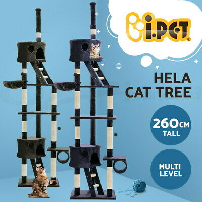 AU124.90 • Buy I.Pet Cat Tree Trees Scratching Post Scratcher Tower Condo House Furniture Wood