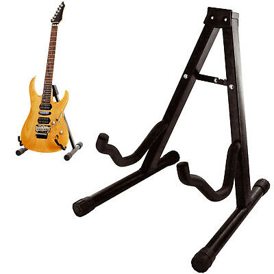 $ CDN14.03 • Buy Folding Guitar Stand Foldable A-frame Music Floor Electric Acoustic Bass New