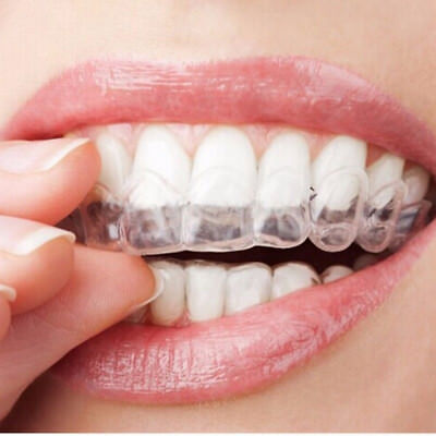 AU3.75 • Buy 4×Thermoform Moldable Mouth Teeth Dental Tray Tooth Whitening Guard Whitener