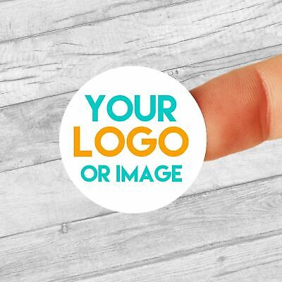 £2.99 • Buy Custom Logo Personalised 25mm Circle Business/Company Name Labels/stickers