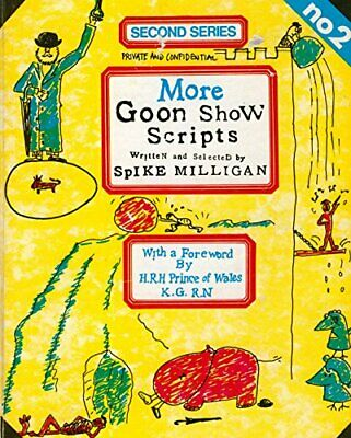 More Goon Show Scripts By Spike Milligan Paperback Book The Cheap Fast Free Post • 6.99£