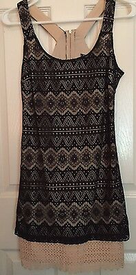 a3aedc0c7e4 Sequin Hearts Dress Dillards Nwot Size 5 • 18.00