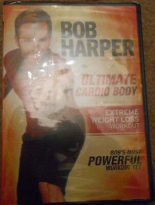 Bob Harper Ultimate Cardio Body Extreme Weight Loss Workout DVD Fitness New • 4.93£