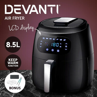 AU139.90 • Buy Devanti 8.5L Air Fryer Healthy Cooker Low Fat Oil Free Kitchen Accessories 1800W