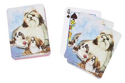 £9.99 • Buy Shih Tzu Breed Of Dog Pack Playing Deck Of Cards Game Perfect Gift