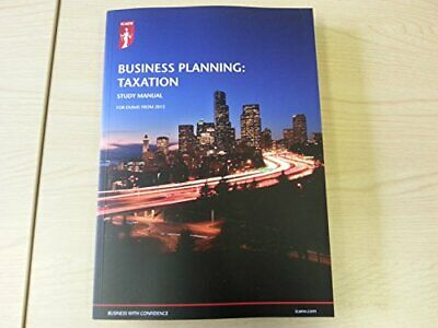 ICAEW: Business Planning : Taxation Study Manual Book The Cheap Fast Free Post • 13.99£