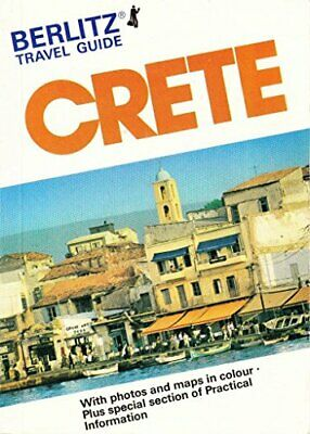 Berlitz Guide To Crete (Berlitz Travel Guides) By Berlitz Guides Paperback Book • 3.99£