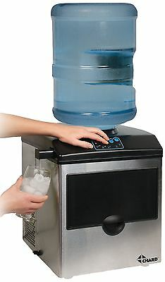 $303.44 • Buy Chard Stainless Steel Ice Maker With Water Dispenser - 40 Lb Per Day - Stainless