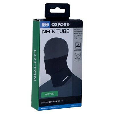 Oxford Cotton Stretch Face Mask Motorcycle Neck Tube Warmer Scarf One Size CA100 • 7.65£