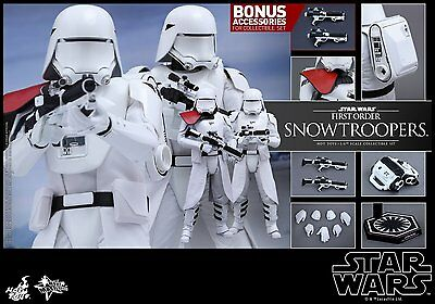 $ CDN462.12 • Buy Hot Toys 1/6 Star Wars Mms323 First Order Snowtroopers Set Masterpiece Figure