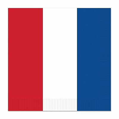 £6.99 • Buy Red, White & Blue Lunch Napkins X 16