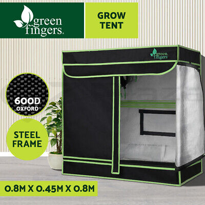 AU74.90 • Buy Greenfingers Grow Tent Kits 80 X 45 X 80cm Indoor Hydroponic Grow System
