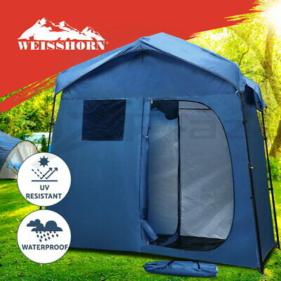 AU104.95 • Buy Weisshorn Portable Pop Up Double Camping Shower Tent Outdoor Toilet Change Room