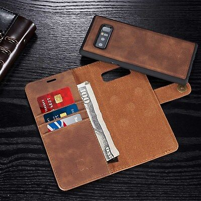 $ CDN24.99 • Buy Samsung Galaxy NOTE 8/S7/S8+ Leather Case Removable Wallet Magnetic Flip Cover