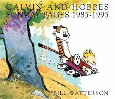 £4.99 • Buy Calvin And Hobbes Sunday Pages: 1985-1995 By Watterson, Bill Paperback Book The