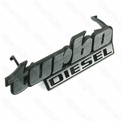 Turbo Diesel Grille Badge VW Golf Mk2 TDi • 12.99£