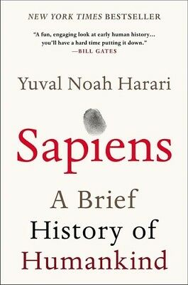 AU27.58 • Buy Sapiens: A Brief History Of Humankind [New Book] Paperback