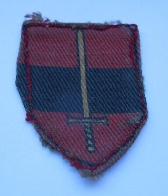 £9.99 • Buy Territorial Army  Printed  Worn  Cloth Formation Sign Military Unit Patch