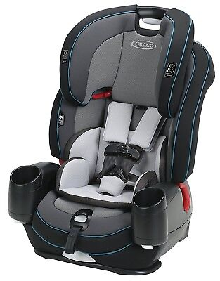 £160.03 • Buy Graco Baby Nautilus SnugLock LX 3-in-1 Harness Booster Car Seat  Zale NEW 2018
