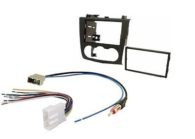 $19.99 • Buy Double Din Dash Radio Install Car Kit Wire Harness Antenna Fits 2007-2012 Nissan