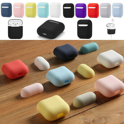 AU10.74 • Buy AirPods Accessories Case Protective Silicone Cover Holder For Apple Air Pods 1/2