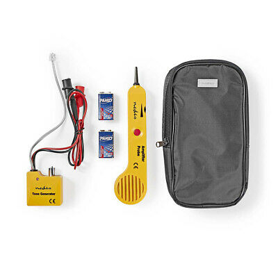 Wire Cable Tracer Tone Generator Finder Probe Tracker Network Tester + Case UK • 32.92£