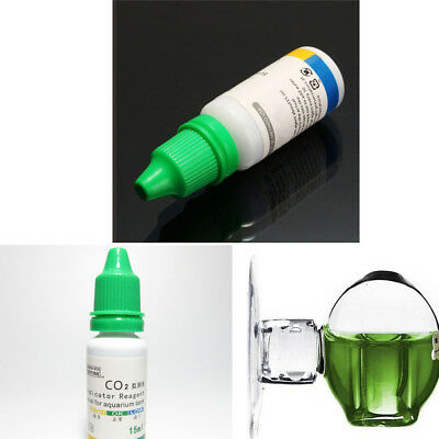 $1.68 • Buy Aquarium Carbon Dioxide CO2 Monitor Glass Drop Ball Checker Testers PH Indicator