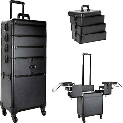 $219.99 • Buy Professional 4-in-1 Rolling Makeup Train Case Organizer - VT014