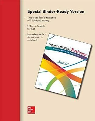 £17.97 • Buy International Business By Charles Hill Loose-Leaf