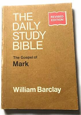 Gospel Of Mark (Daily Study Bible) By Barclay, William Paperback Book The Cheap • 4.49£