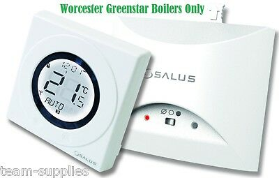 Salus St620wbc Worcester Combi Boiler Wireless Thermostat Rf Room Stat Plug In  • 36.89£