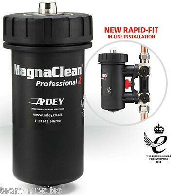 £99.95 • Buy MAGNACLEAN PROFESSIONAL 2 22mm MAGNETIC BOILER CENTRAL HEATING PRO 2 FILTER ADEY