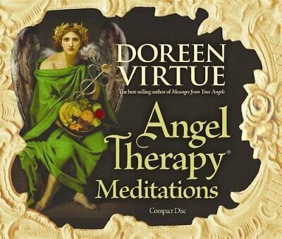 £9.99 • Buy Angel Therapy Meditations By Virtue PhD, Doreen CD-Audio Book The Cheap Fast