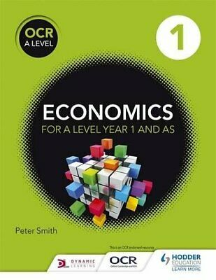 £10.99 • Buy OCR A Level Economics Book 1 By Smith, Peter Book The Cheap Fast Free Post