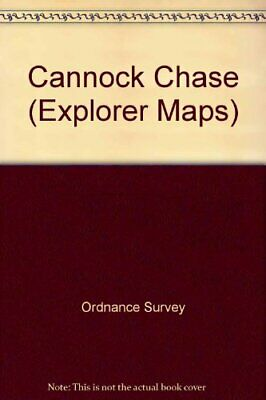 Cannock Chase (Explorer Maps) By Ordnance Survey Sheet Map, Folded Book The • 9.99£