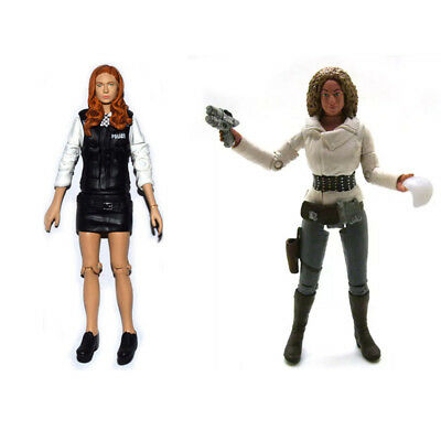 Dr. Doctor Who Amy Pond Police Uniform & River Song Loose Action Figure • 10.02£